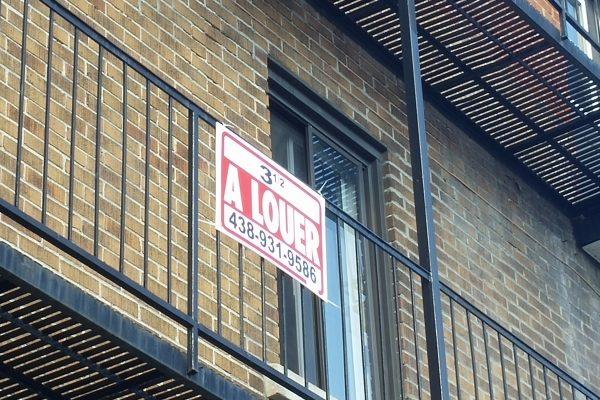Affiche appartement à louer Montréal