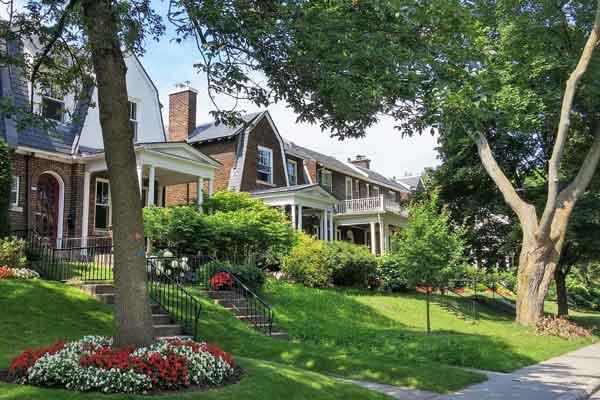 Maisons à Outremont, Montréal