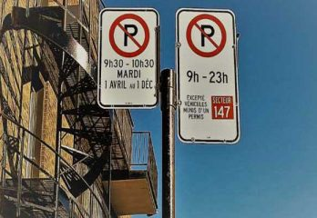 Parking in Montreal