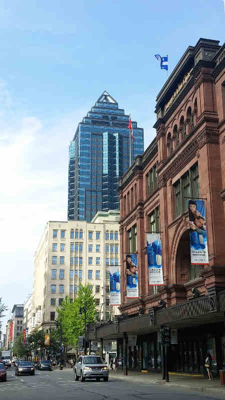 tours et magasins centre ville