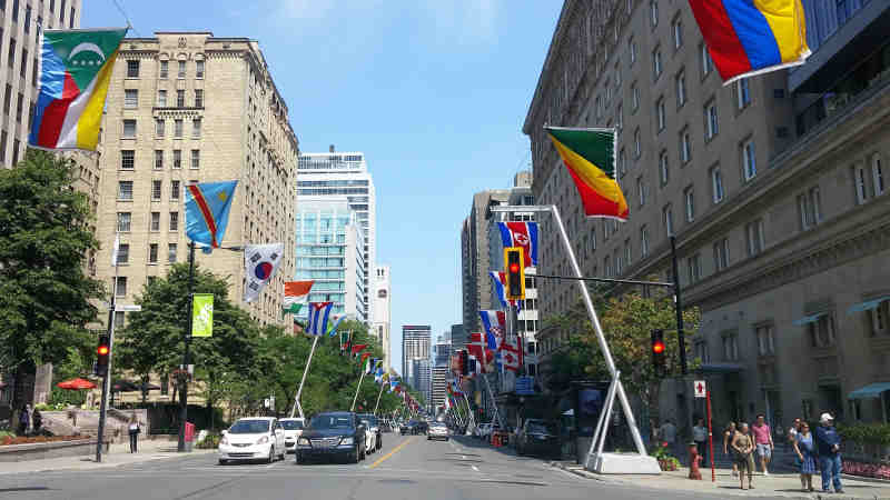rue sherbrooke centre ville