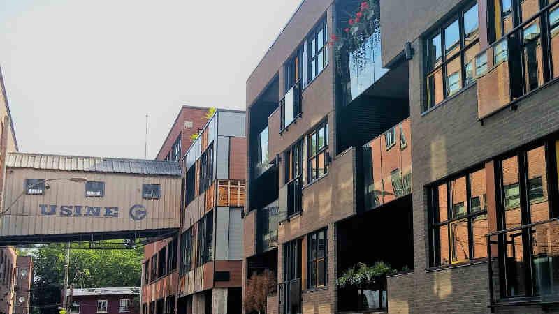 usine c et condos centre sud