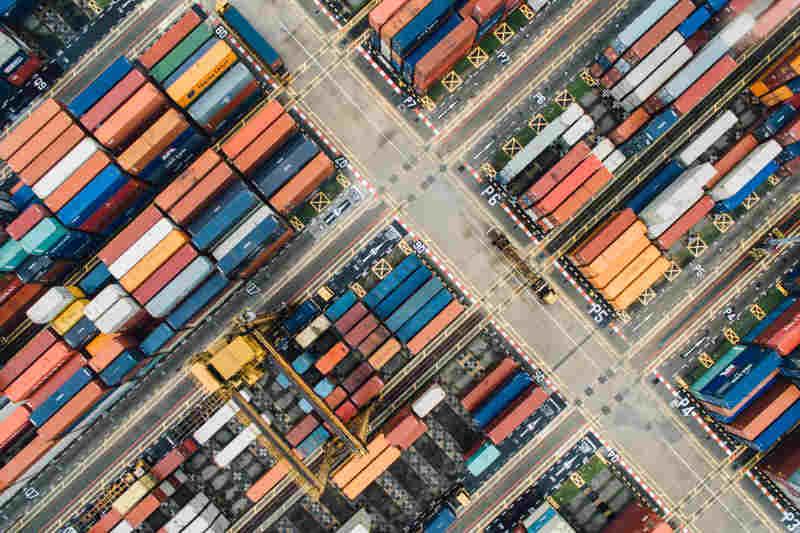 logistique container