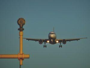 atterrissage à Montréal