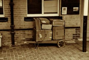 vivre dans les valises