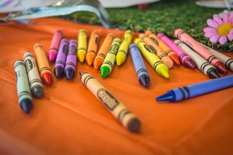 Garderie crayon